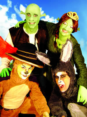 """As Aventuras de Shrek"" no Teatro Abel"