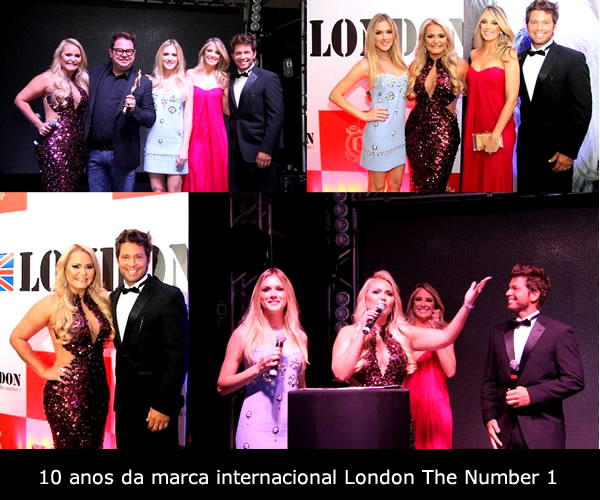 10 anos da marca internacional London The Number 1