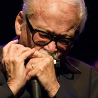 Toots Thielemans e Gabriel Grossi no Cine Jazz
