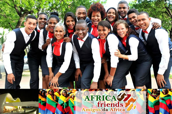 AFRICA FRIENDS agita o Teatro Popular