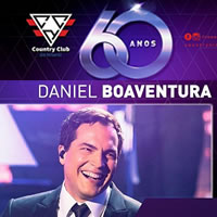 Daniel Boaventura nos 60 anos do Country Club