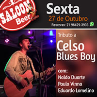 Tributo a Celso Blues Boy no Saloon Beer