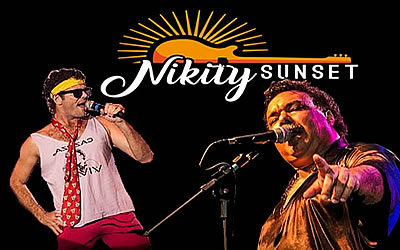 Covers do Cazuza e do Tim Maia no Nikity Sunset